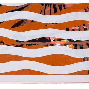 Image 98 - Half Paper 1997/2003,  monoprint, acrylic silkscreened on BFK Rives paper, 61 x 107 cm., JP Sergent