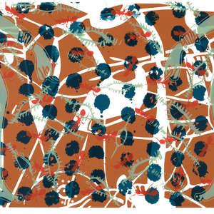 Image 42 - Half Paper 1997/2003,  monoprint, acrylic silkscreened on BFK Rives paper, 61 x 107 cm., JP Sergent