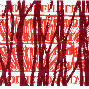 Image 35 - Half Paper 1997/2003,  monoprint, acrylic silkscreened on BFK Rives paper, 61 x 107 cm., JP Sergent
