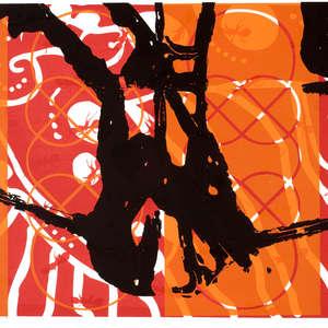 Image 15 - Half Paper 1997/2003,  monoprint, acrylic silkscreened on BFK Rives paper, 61 x 107 cm., JP Sergent