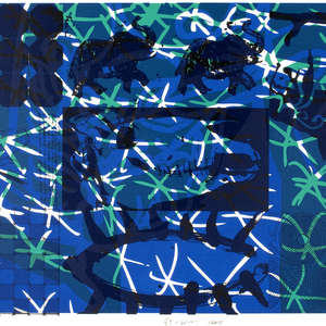 Image 22 - Half Paper 1997/2003,  monoprint, acrylic silkscreened on BFK Rives paper, 61 x 107 cm., JP Sergent