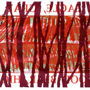 Image 18 - Half Paper 1997/2003,  monoprint, acrylic silkscreened on BFK Rives paper, 61 x 107 cm., JP Sergent