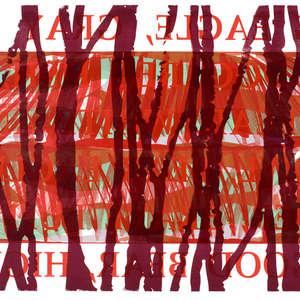 Image 18 - Half Paper 1997/2003,  monoprint, acrylic silkscreened on BFK Rives paper, 61 x 107 cm., JP Sergent