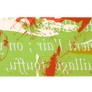 Image 85 - Half Paper 1997/2003,  monoprint, acrylic silkscreened on BFK Rives paper, 61 x 107 cm., JP Sergent