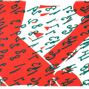 Image 29 - Half Paper 1997/2003,  monoprint, acrylic silkscreened on BFK Rives paper, 61 x 107 cm., JP Sergent