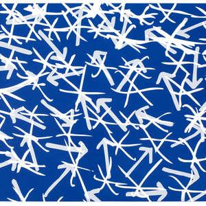 Image 28 - Half Paper 1997/2003,  monoprint, acrylic silkscreened on BFK Rives paper, 61 x 107 cm., JP Sergent