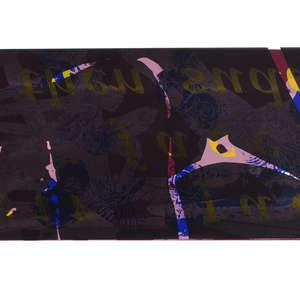 Image 84 - Half Paper 1997/2003,  monoprint, acrylic silkscreened on BFK Rives paper, 61 x 107 cm., JP Sergent