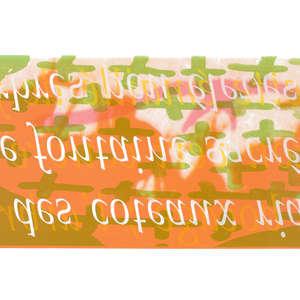 Image 82 - Half Paper 1997/2003,  monoprint, acrylic silkscreened on BFK Rives paper, 61 x 107 cm., JP Sergent