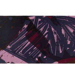 Image 81 - Half Paper 1997/2003,  monoprint, acrylic silkscreened on BFK Rives paper, 61 x 107 cm., JP Sergent