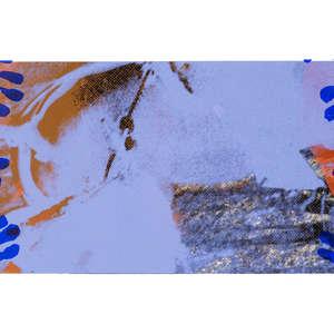 Image 75 - Half Paper 1997/2003,  monoprint, acrylic silkscreened on BFK Rives paper, 61 x 107 cm., JP Sergent