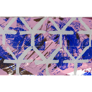 Image 90 - Half Paper 1997/2003,  monoprint, acrylic silkscreened on BFK Rives paper, 61 x 107 cm., JP Sergent