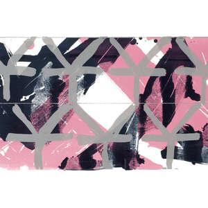 Image 79 - Half Paper 1997/2003,  monoprint, acrylic silkscreened on BFK Rives paper, 61 x 107 cm., JP Sergent