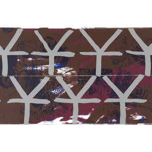 Image 73 - Half Paper 1997/2003,  monoprint, acrylic silkscreened on BFK Rives paper, 61 x 107 cm., JP Sergent