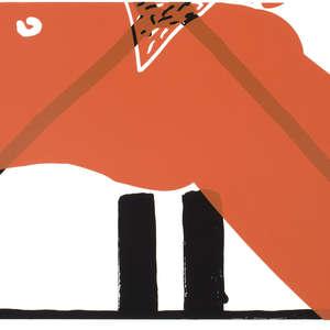 Image 7 - Half Paper 1997/2003,  monoprint, acrylic silkscreened on BFK Rives paper, 61 x 107 cm., JP Sergent
