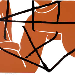 Image 2 - Half Paper 1997/2003,  monoprint, acrylic silkscreened on BFK Rives paper, 61 x 107 cm., JP Sergent