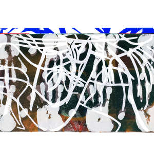 Image 71 - Half Paper 1997/2003,  monoprint, acrylic silkscreened on BFK Rives paper, 61 x 107 cm., JP Sergent