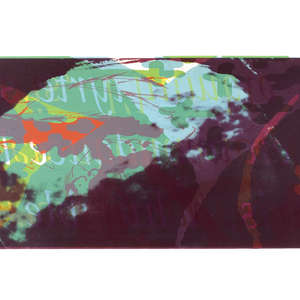 Image 69 - Half Paper 1997/2003,  monoprint, acrylic silkscreened on BFK Rives paper, 61 x 107 cm., JP Sergent