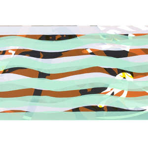 Image 80 - Half Paper 1997/2003,  monoprint, acrylic silkscreened on BFK Rives paper, 61 x 107 cm., JP Sergent