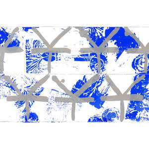 Image 92 - Half Paper 1997/2003,  monoprint, acrylic silkscreened on BFK Rives paper, 61 x 107 cm., JP Sergent