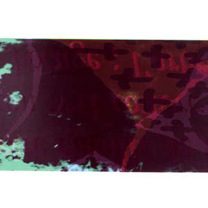 Image 89 - Half Paper 1997/2003,  monoprint, acrylic silkscreened on BFK Rives paper, 61 x 107 cm., JP Sergent