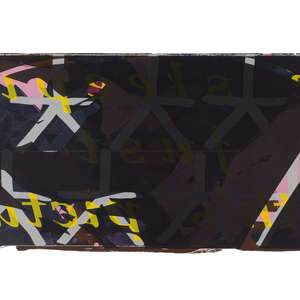 Image 87 - Half Paper 1997/2003,  monoprint, acrylic silkscreened on BFK Rives paper, 61 x 107 cm., JP Sergent