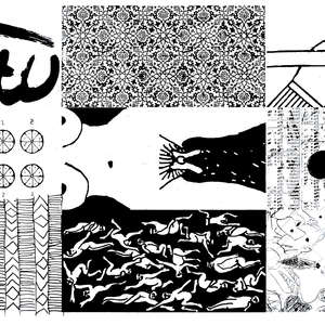 Image 103 - Half Paper 1997/2003,  monoprint, acrylic silkscreened on BFK Rives paper, 61 x 107 cm., JP Sergent