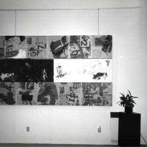 Image 154 - Paintings in Montreal, 1991-1993, JP Sergent