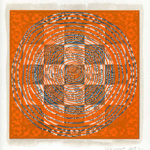 Image 37 - Small Paper-Shakti-Yoni-2019-BFK, JP Sergent