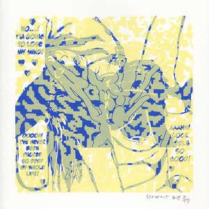 Image 434 - Small Paper-Shakti-Yoni-2018-White-BFK-Rives, JP Sergent