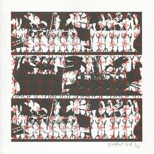 Image 406 - Small Paper-Shakti-Yoni-2018-White-BFK-Rives, JP Sergent