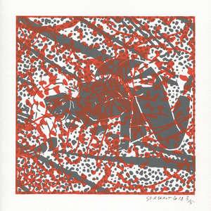 Image 421 - Small Paper-Shakti-Yoni-2018-White-BFK-Rives, JP Sergent