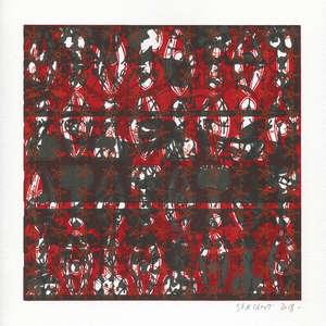 Image 420 - Small Paper-Shakti-Yoni-2018-White-BFK-Rives, JP Sergent