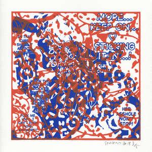 Image 450 - Small Paper-Shakti-Yoni-2018-White-BFK-Rives, JP Sergent
