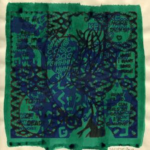 Image 275 - Small Paper-Shakti-Yoni-2018 |Yellow Wang Paper, JP Sergent