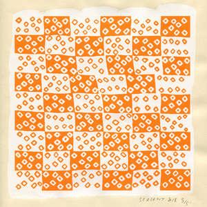Image 321 - Small Paper-Shakti-Yoni-2018 |Yellow Wang Paper, JP Sergent