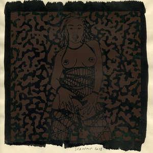 Image 252 - Small Paper-Shakti-Yoni-2018 |Yellow Wang Paper, JP Sergent