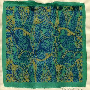 Image 264 - Small Paper-Shakti-Yoni-2018 |Yellow Wang Paper, JP Sergent