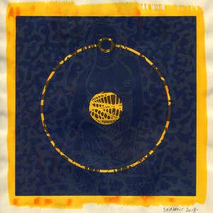 Image 225 - Small Paper-Shakti-Yoni-2018 |Yellow Wang Paper, JP Sergent