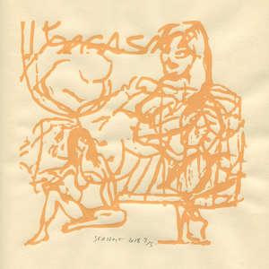 Image 297 - Small Paper-Shakti-Yoni-2018 |Yellow Wang Paper, JP Sergent
