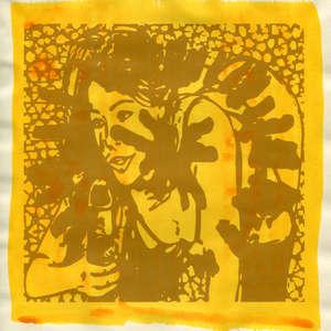 Image 171 - Small Paper-Shakti-Yoni-2018 |Yellow Wang Paper, JP Sergent