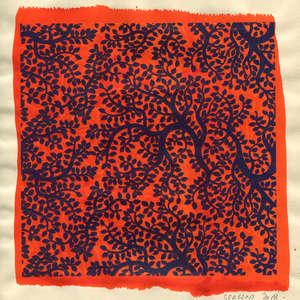 Image 133 - Small Paper-Shakti-Yoni-2018 |Yellow Wang Paper, JP Sergent