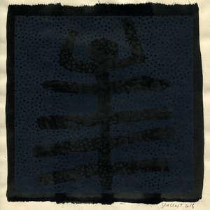 Image 144 - Small Paper-Shakti-Yoni-2018 |Yellow Wang Paper, JP Sergent