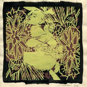 Image 146 - Small Paper-Shakti-Yoni-2018 |Yellow Wang Paper, JP Sergent