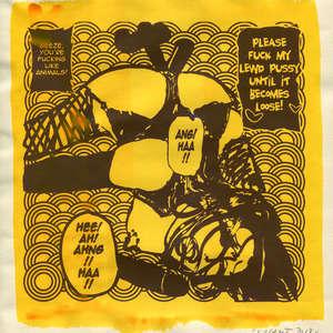 Image 100 - Small Paper-Shakti-Yoni-2018 |Yellow Wang Paper, JP Sergent