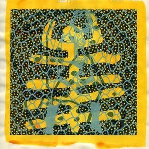 Image 99 - Small Paper-Shakti-Yoni-2018 |Yellow Wang Paper, JP Sergent