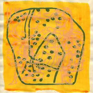 Image 97 - Small Paper-Shakti-Yoni-2018 |Yellow Wang Paper, JP Sergent