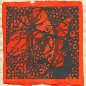 Image 77 - Small Paper-Shakti-Yoni-2018 |Yellow Wang Paper, JP Sergent