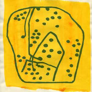 Image 124 - Small Paper-Shakti-Yoni-2018 |Yellow Wang Paper, JP Sergent