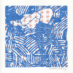 Image 364 - Small Paper-Shakti-Yoni-2018-White-BFK-Rives, JP Sergent