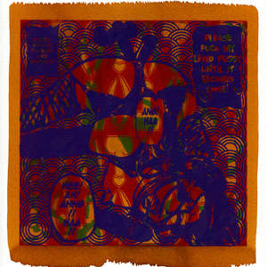 Image 139 - Small Paper-Shakti-Yoni-2018-White-BFK-Rives, JP Sergent